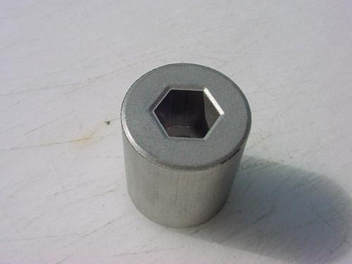 powder metal Adapters Hex Bore
