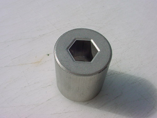 powder metal Adapters Hex Bore