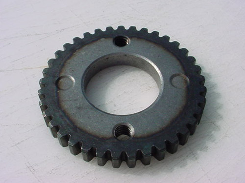 Specialty spur gear for lawn and garden equipment