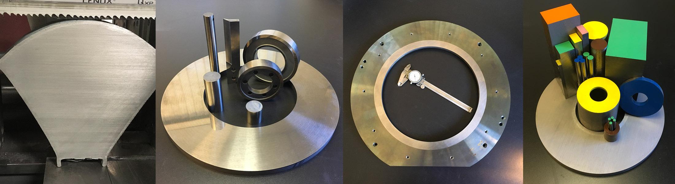 steel bonded custom metal parts