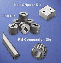 Nail Gripper Die, Pill Die, PM Compaction Die manufacturer
